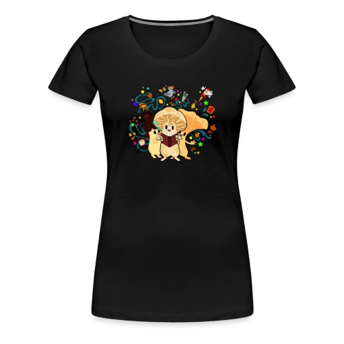 Agaric&Cie Just take a book!! - T-shirt Premium Femme