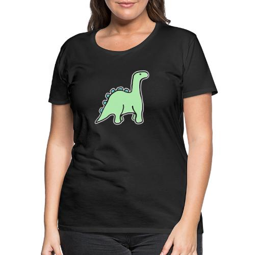 dinosaurus - Vrouwen Premium T-shirt