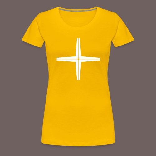 GBIGBO zjebeezjeboo - Rocher - Place au milieu - T-shirt Premium Femme