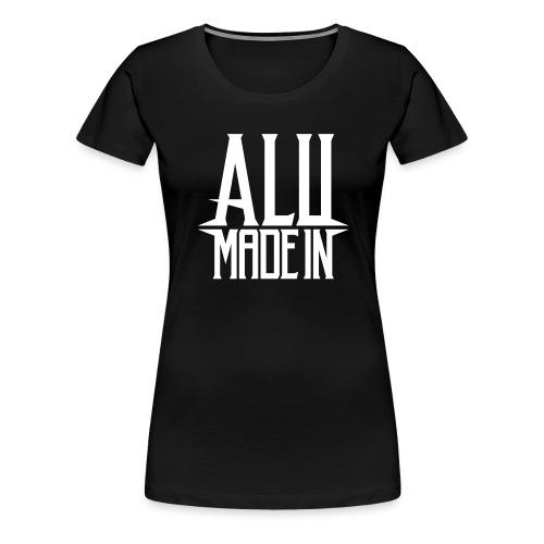 logo_alumadein_vecto_blan - T-shirt Premium Femme