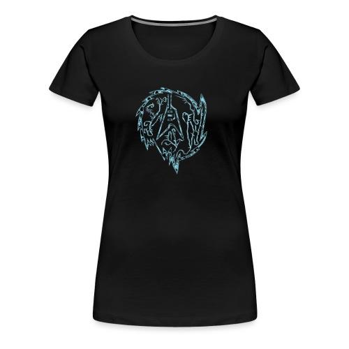 Flying-V-Guitar in thorns - Frauen Premium T-Shirt