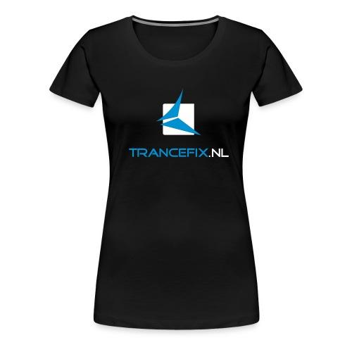 trancefix logotext - Women's Premium T-Shirt