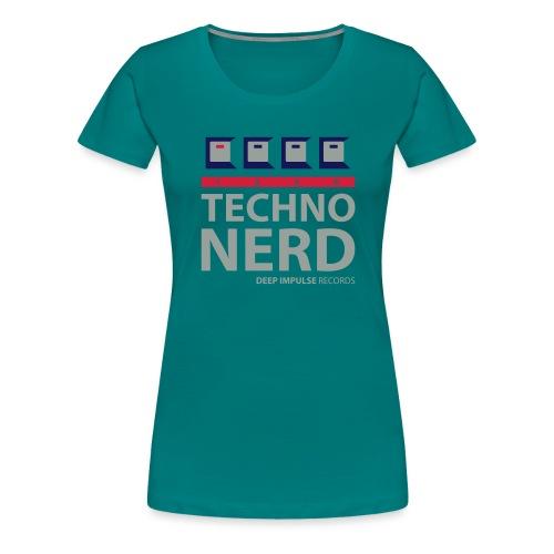 Techno Nerd - Women's Premium T-Shirt