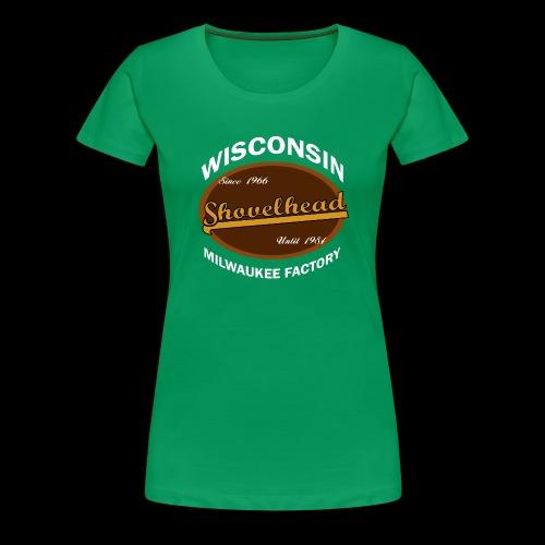 Milwaukee Shovelhead - Frauen Premium T-Shirt