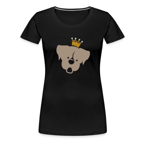 Prinz Poldi braun - Frauen Premium T-Shirt