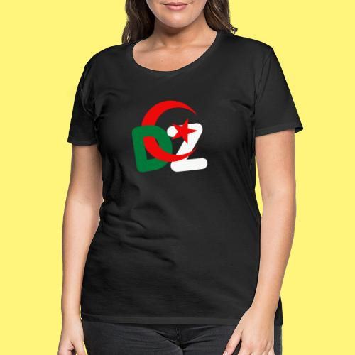 DZ ALGERIE - T-shirt Premium Femme