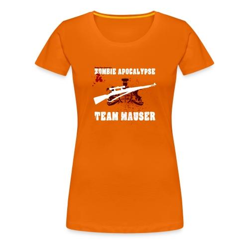 Zombie Apocalypse Team Mauser - Frauen Premium T-Shirt