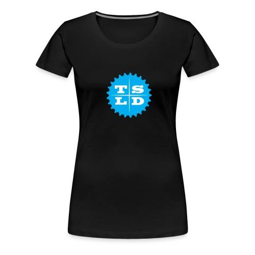 tsld-cog Front - Vrouwen Premium T-shirt