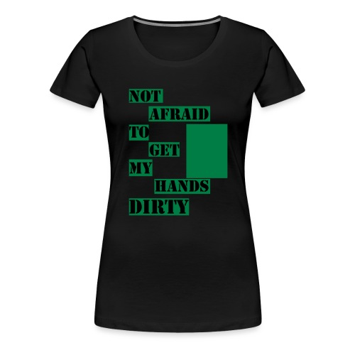 NOT AFRAID - Tanktop - Premium-T-shirt dam