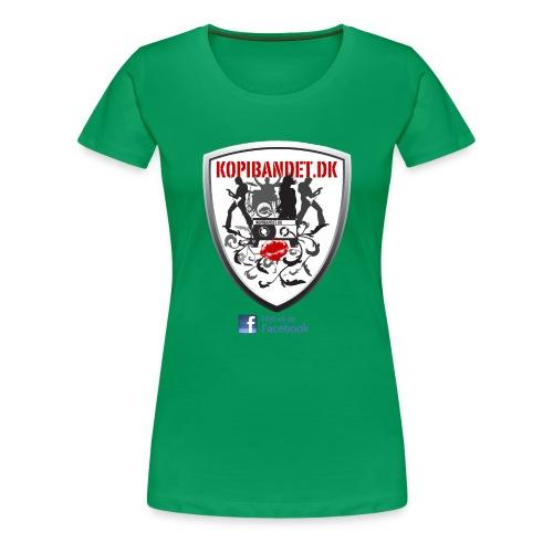 KopiBandet.DK find us on facebook - Dame premium T-shirt