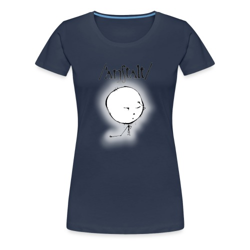 kreisling mit logo (schwarz) - Frauen Premium T-Shirt