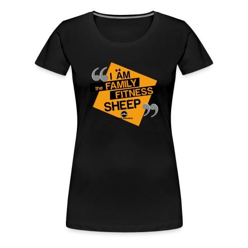 Familia Fitness - Camiseta premium mujer