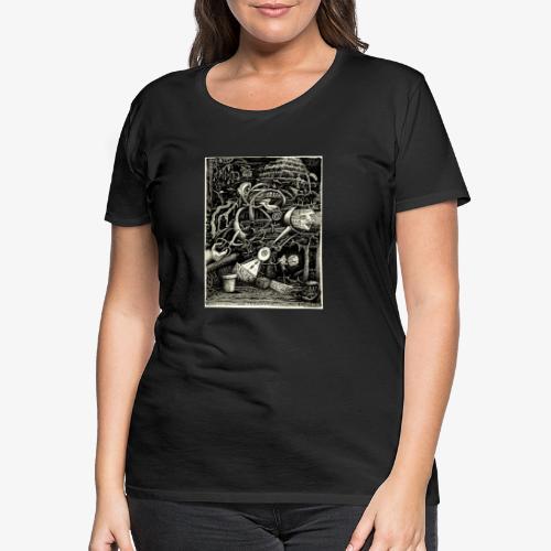 Garden of madness - Women's Premium T-Shirt