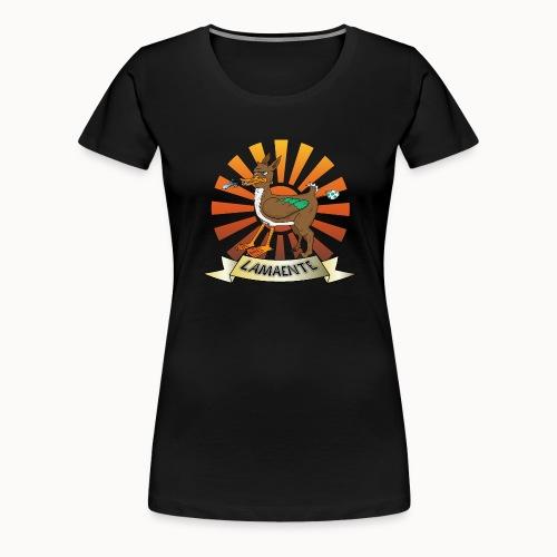 Lamaente - Frauen Premium T-Shirt
