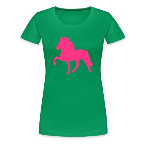 Tölter - Frauen Premium T-Shirt