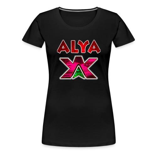 ALYA LOGO LONG - Premium T-skjorte for kvinner