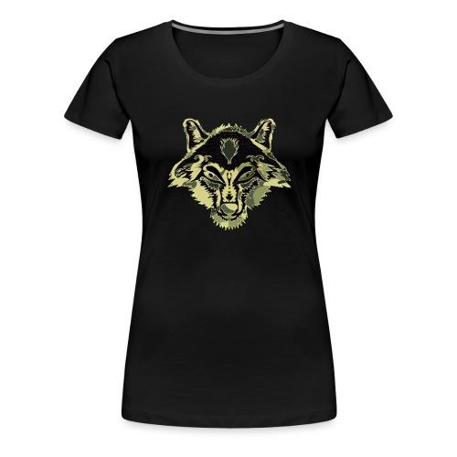 WOLFZER CAMO - T-shirt Premium Femme