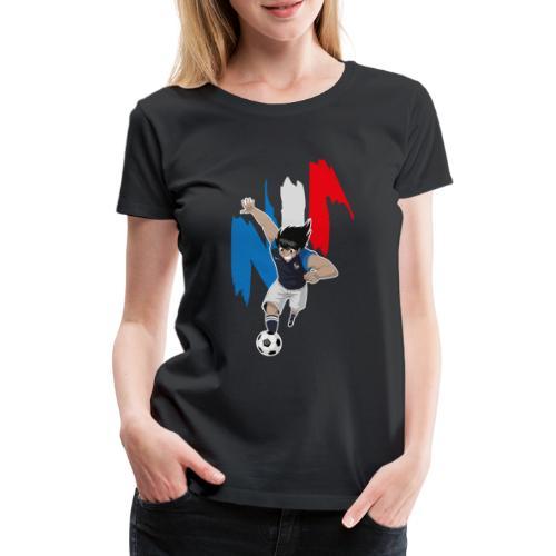 HYUGA FRANCE - COUPE DU MONDE - RUSSIE 2018 - T-shirt Premium Femme