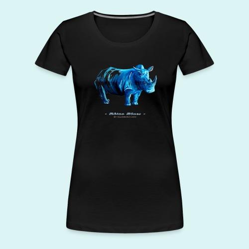 Rhino Blues - Women's Premium T-Shirt