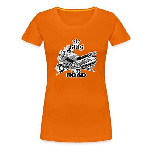 0883 FJR KING of the ROAD - Vrouwen Premium T-shirt