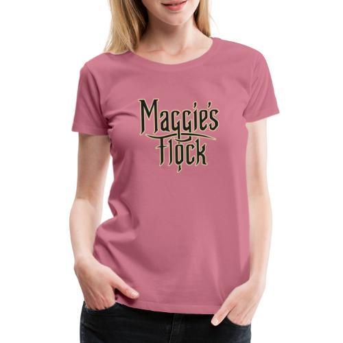 Maggie's Flock logo 2.0 - Vrouwen Premium T-shirt