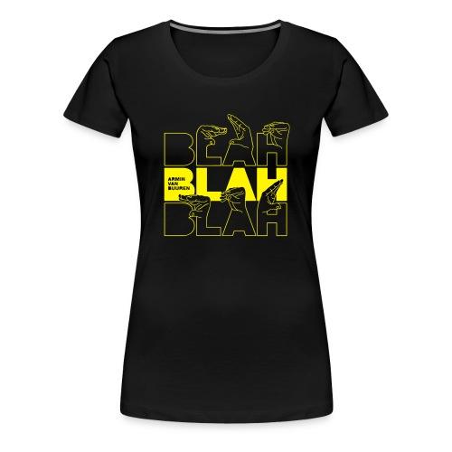 Blah - Women's Premium T-Shirt