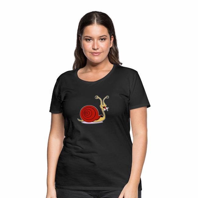 Escargot rigolo red version