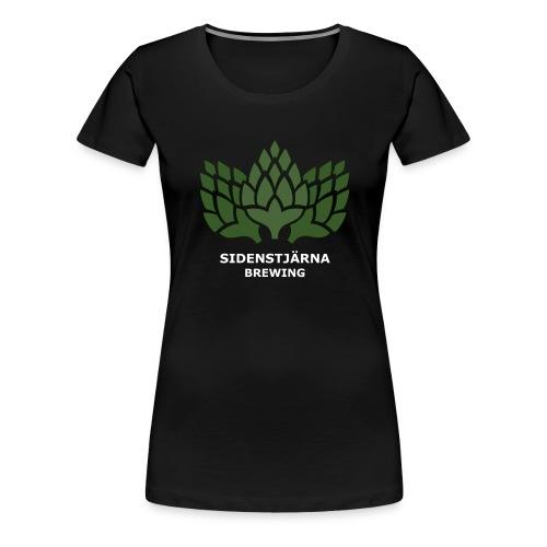 Ljus Logotyp - Premium-T-shirt dam