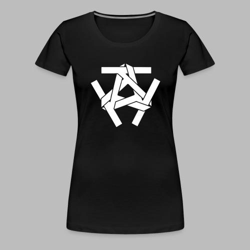 KKK-Logo-vektor - Frauen Premium T-Shirt
