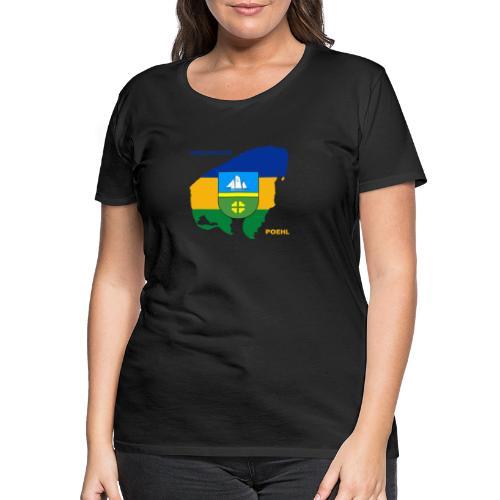 Poehl Insel Ostsee Urlaub - Frauen Premium T-Shirt