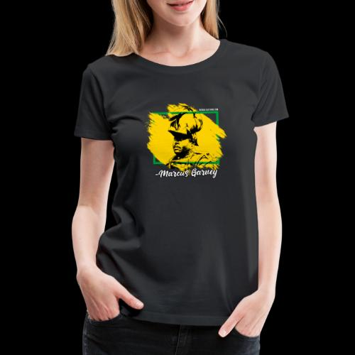 MARCUS GARVEY by Reggae-Clothing.com - Frauen Premium T-Shirt