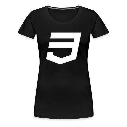 CSS3 Developer - Camiseta premium mujer