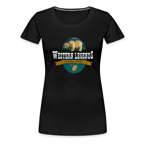 Western Legends - l'ours - T-shirt Premium Femme
