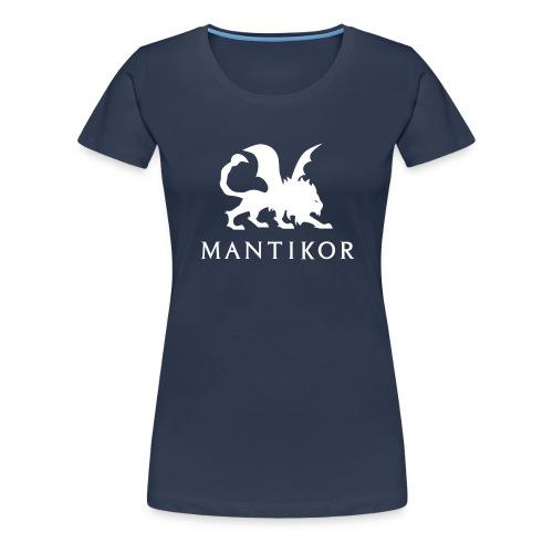 mantikor emblem22c - Frauen Premium T-Shirt