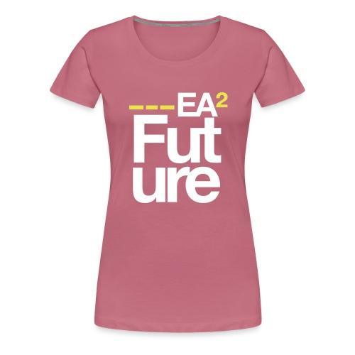 ssea2yellowwhiteonblacktshirt - Women's Premium T-Shirt