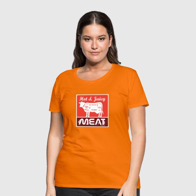 Hot & juicy meat