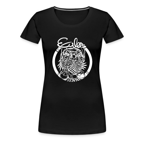 Eulers on Black - Frauen Premium T-Shirt