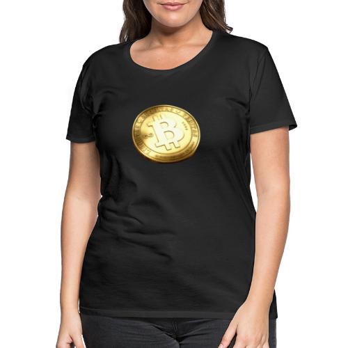 Bitcoin - Premium-T-shirt dam
