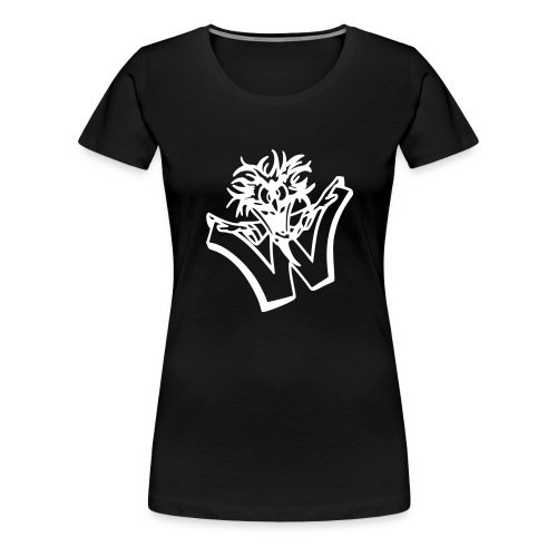 w wahnsinn - Vrouwen Premium T-shirt