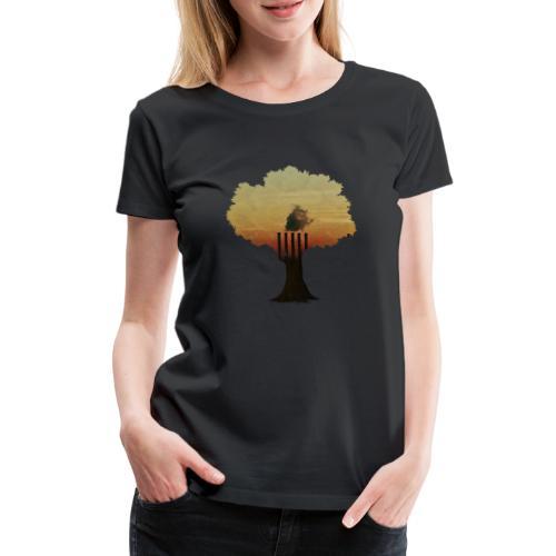 INDUSTREE - Premium-T-shirt dam