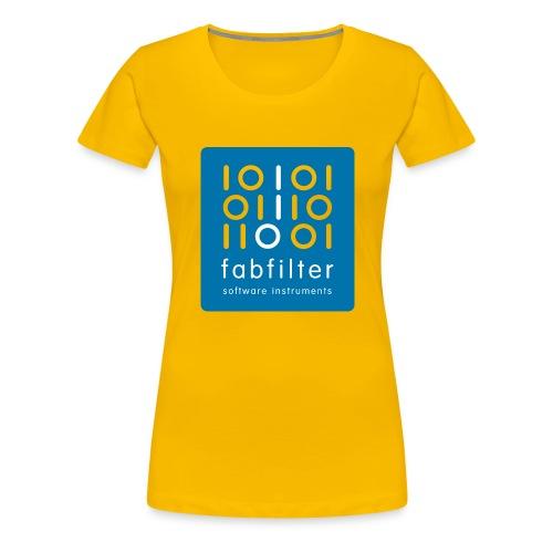 fabfilter logo blue large - Women's Premium T-Shirt
