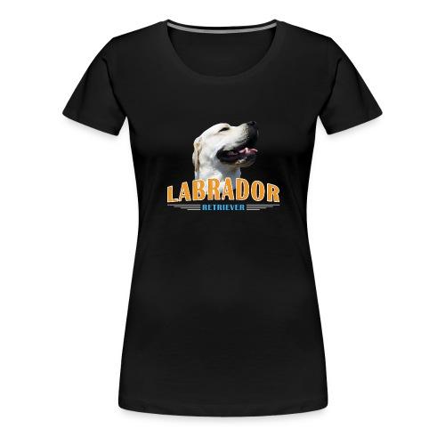 Labrador Tonko stolz - Frauen Premium T-Shirt