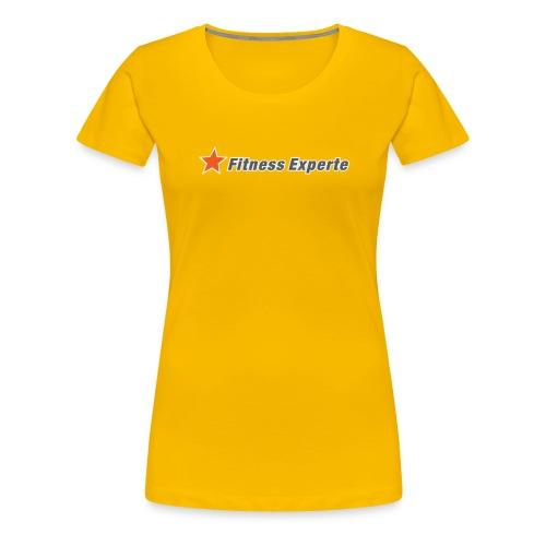 FitnessExperte - Frauen Premium T-Shirt