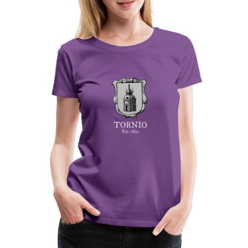 Tornio est 1621 - Naisten premium t-paita