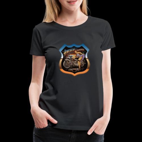 AMERICAN CLASSIC - Frauen Premium T-Shirt