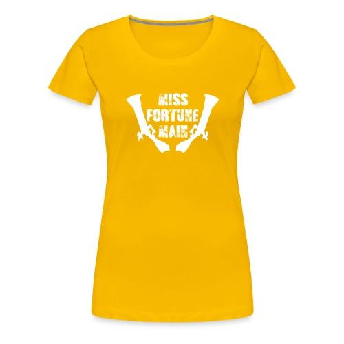 Miss Fortune Main - Frauen Premium T-Shirt