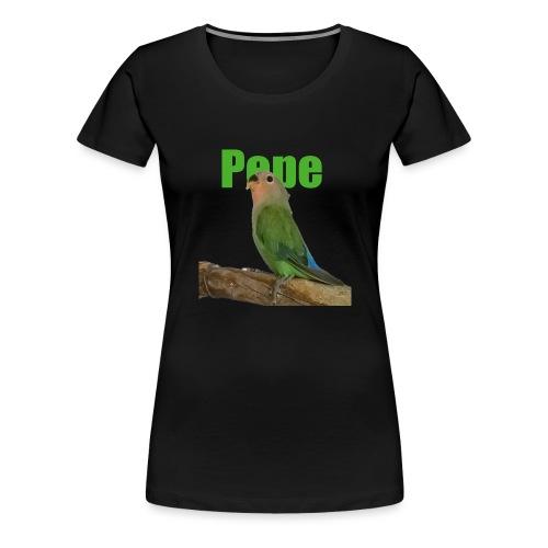 Pepe - Naisten premium t-paita