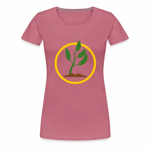 Setzlingemblem - Frauen Premium T-Shirt