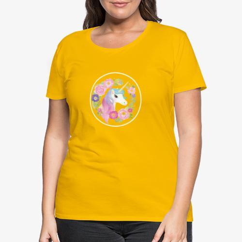 Unicorn - Maglietta Premium da donna