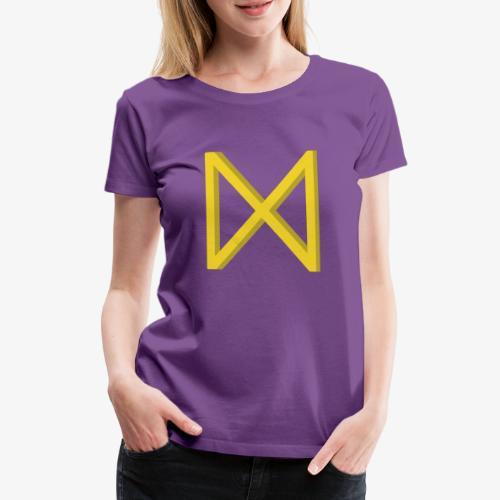 Rune Dagaz? Verdrehung von Extinction Rebellion? - Frauen Premium T-Shirt
